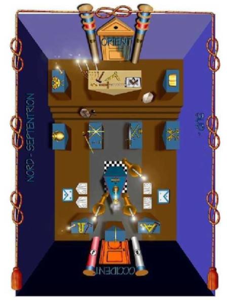 tempio massonico rito egizio
