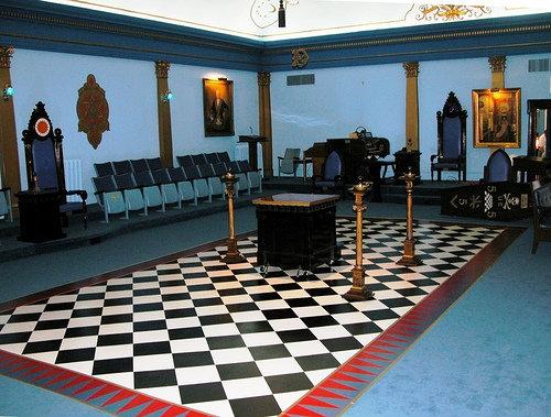 pavimento a scacchi