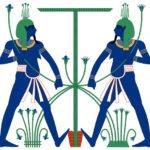 HAPY, il Tesoriere in una Loggia Massonica Egizia.